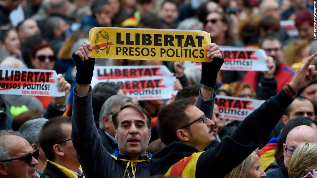 Spain: Catalonia vote interference came from Russia