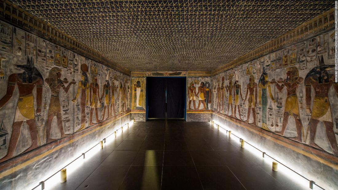 Master replicators 3D-print an ancient Egyptian tomb in Switzerland