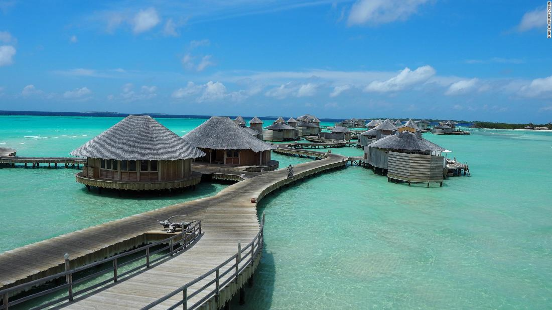 A look at one of the Maldives' priciest resorts