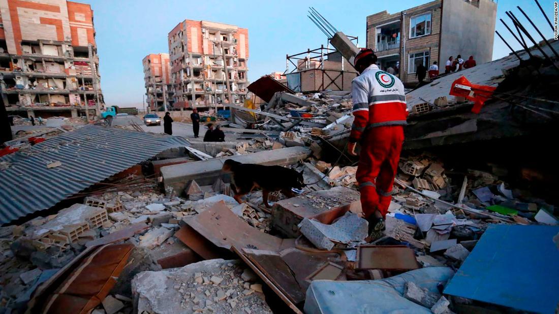 Iraq-Iran survivors struggle after deadly quake