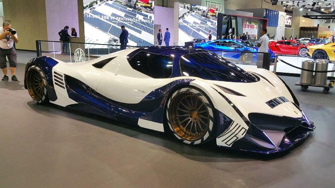 Dubai Motor Show: Hypercar unveiled