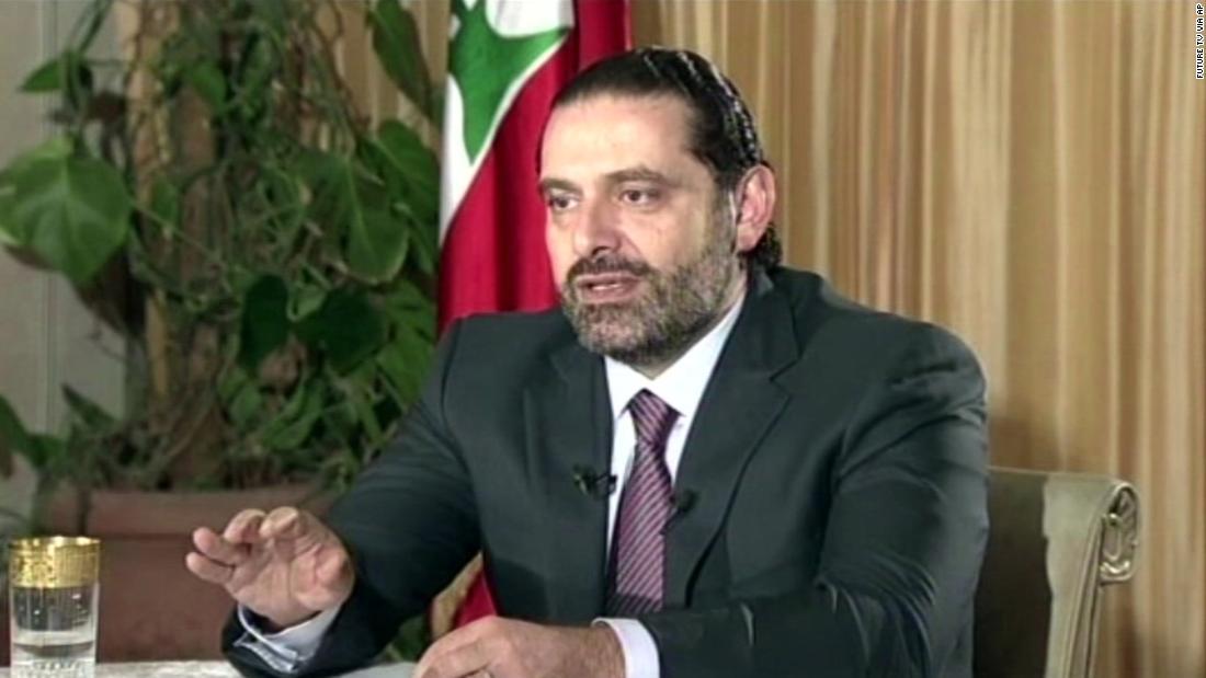 Lebanese PM says he plans to return to Lebanon