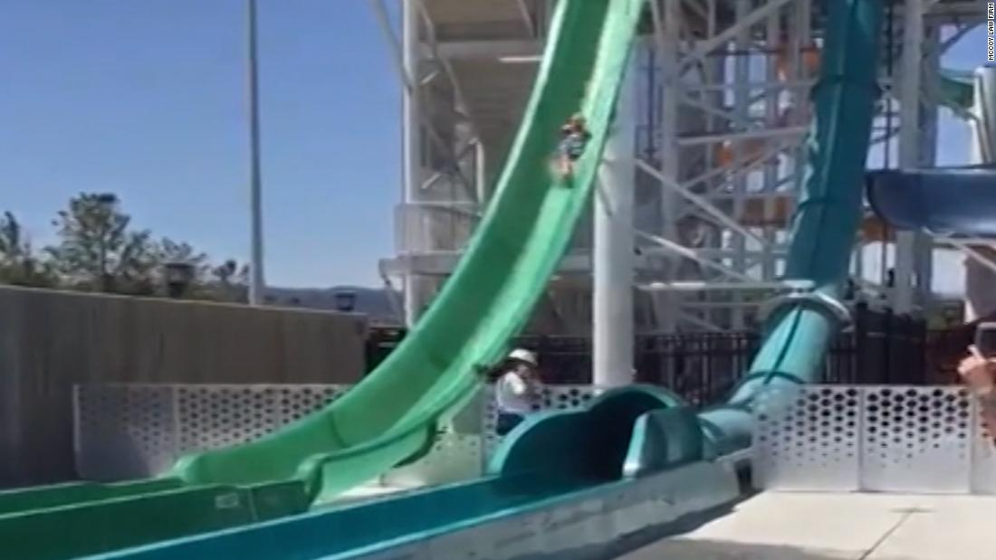 Family sues after son falls off water slide