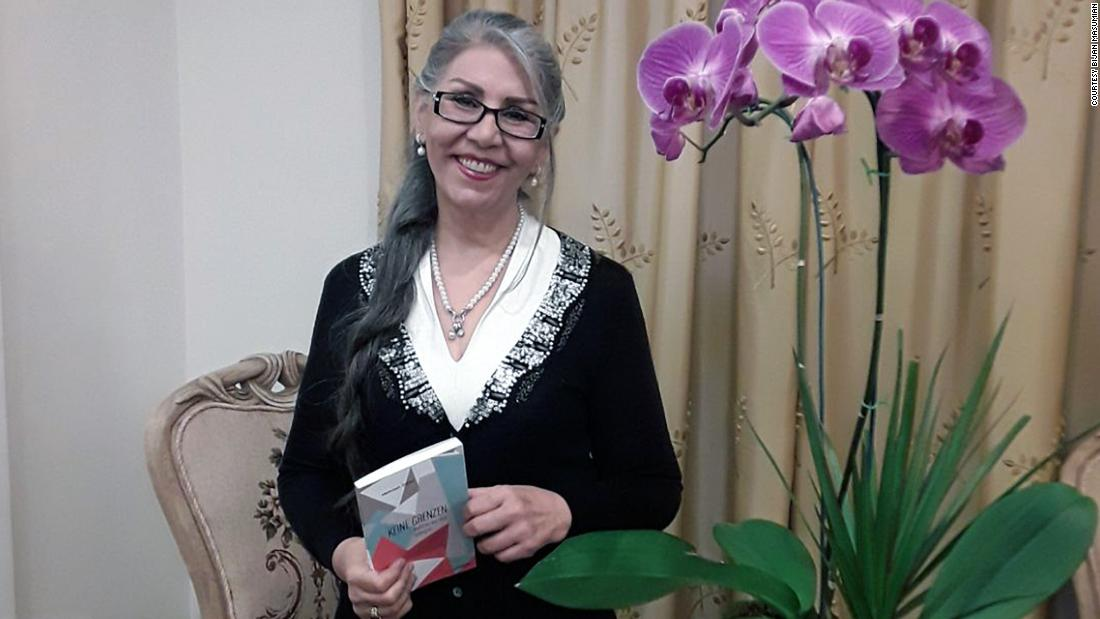 Woman survives Iran jail by writing poetry