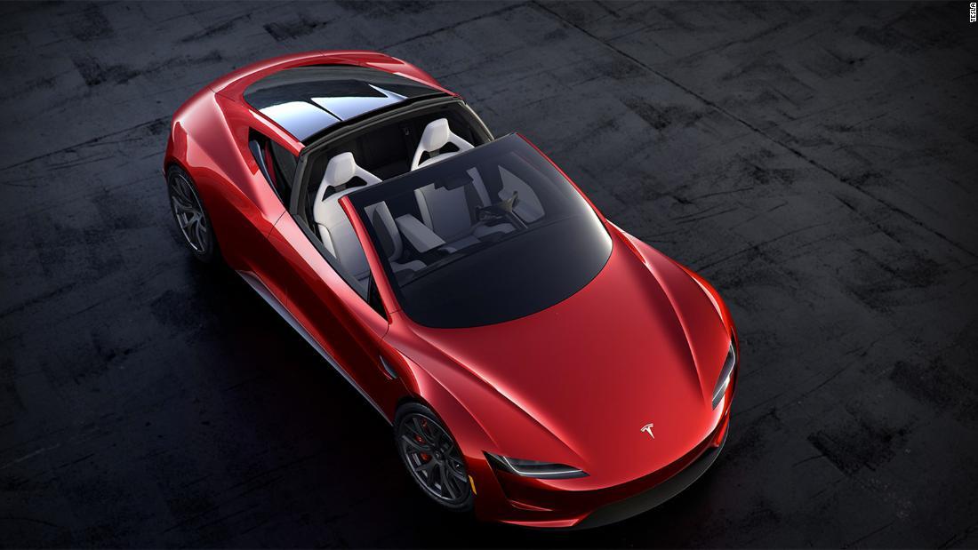 Tesla reveals semi-truck and new sports car