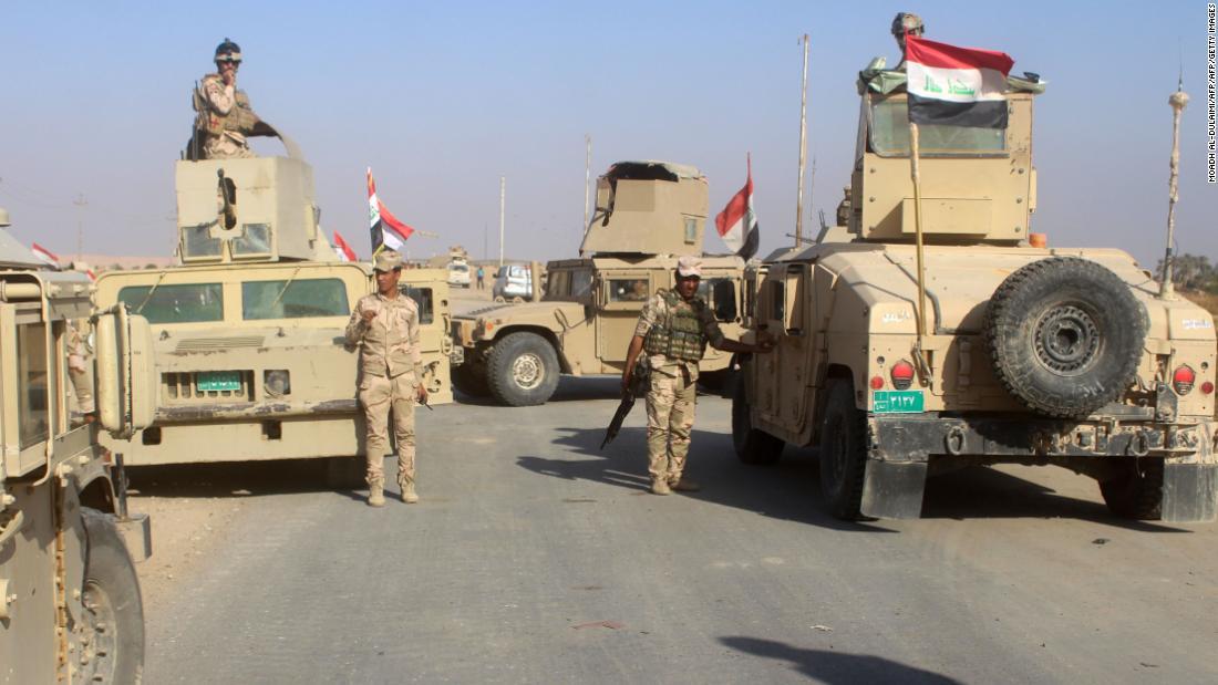 Iraqi forces retake town of Rawa from ISIS