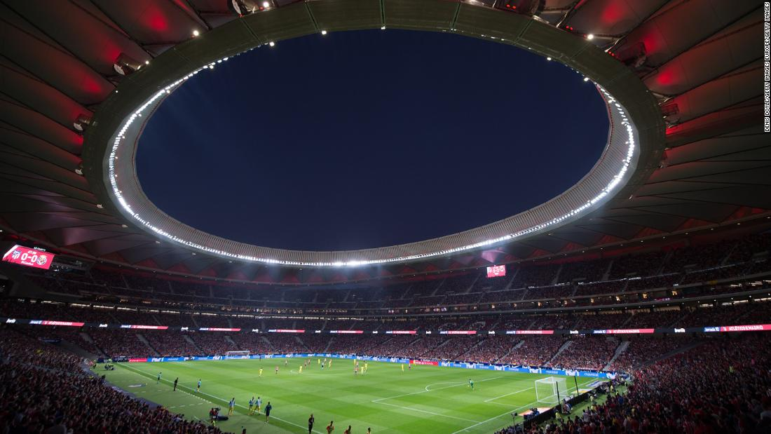 Madrid Derby: Atletico fans miss 'home'