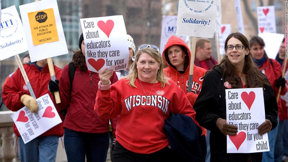 Here's what happened to teachers after Wisconsin gutted their unions