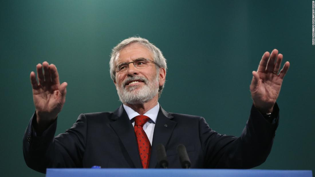 Irish republican party chief plans to step down