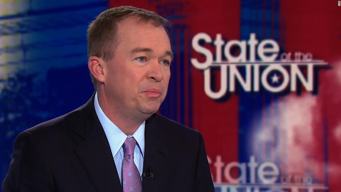 Mulvaney: WH would drop individual mandate repeal if 'impediment' to tax reform