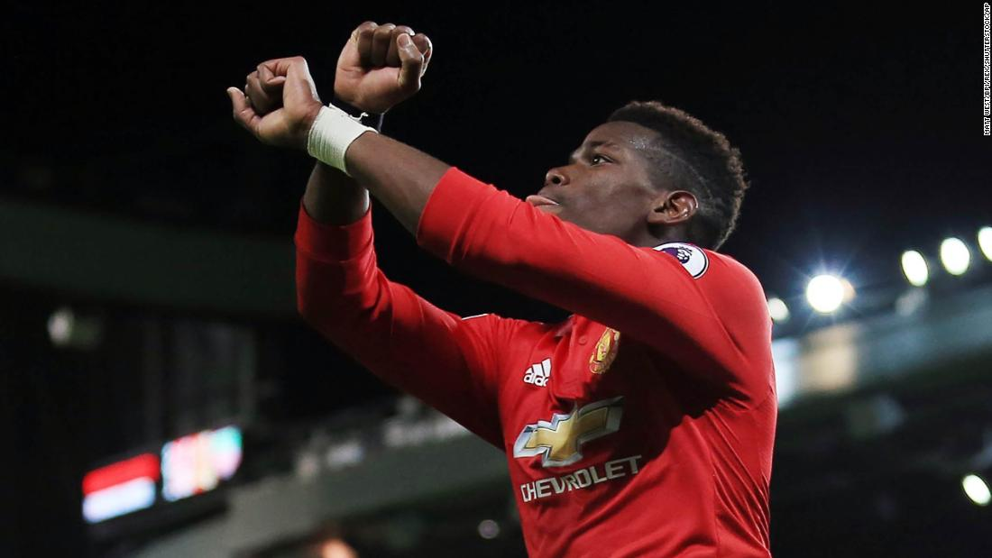 Pogba highlights migrant slavery auctions in goal celebration