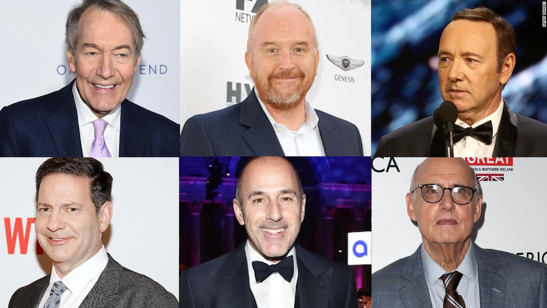 Hollywood hit hard by sexual allegations