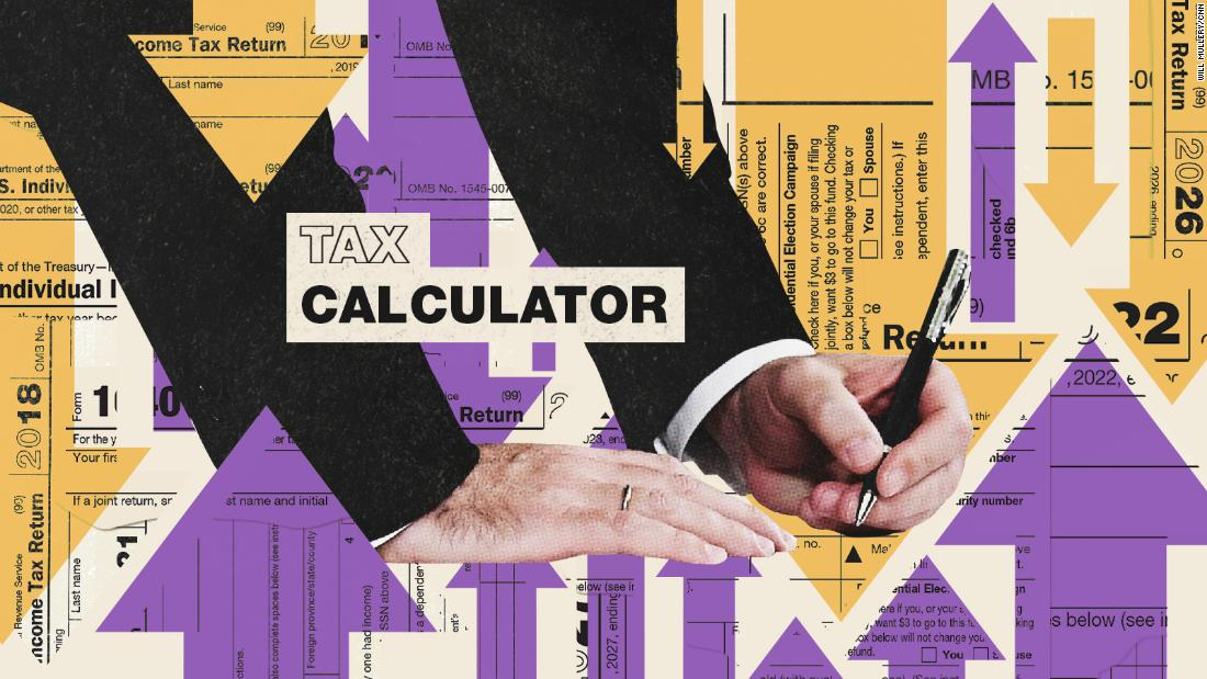 Use this calculator to see how the tax bill will affect your paycheck