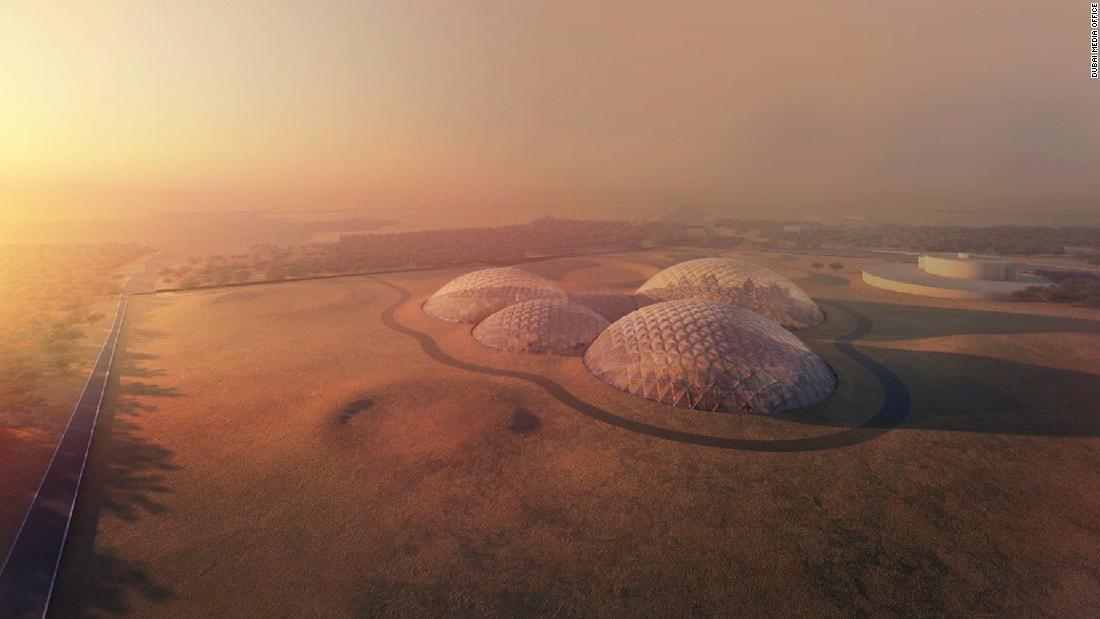 UAE plans Mars colony