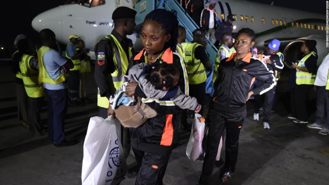 Returning Nigerians warn others: Don't go to Libya