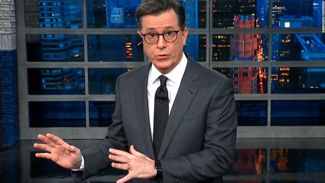 Colbert: Trump can't locate Jerusalem on map