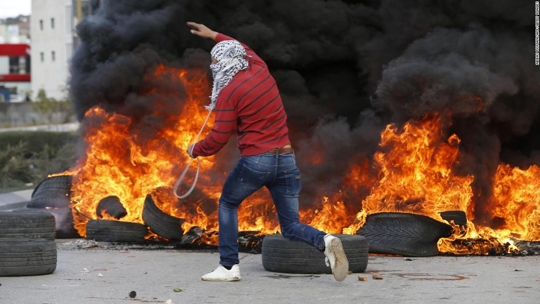 'Jerusalem is our right': Palestinians enraged