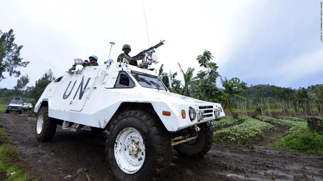14 UN peacekeepers killed in Congo attack