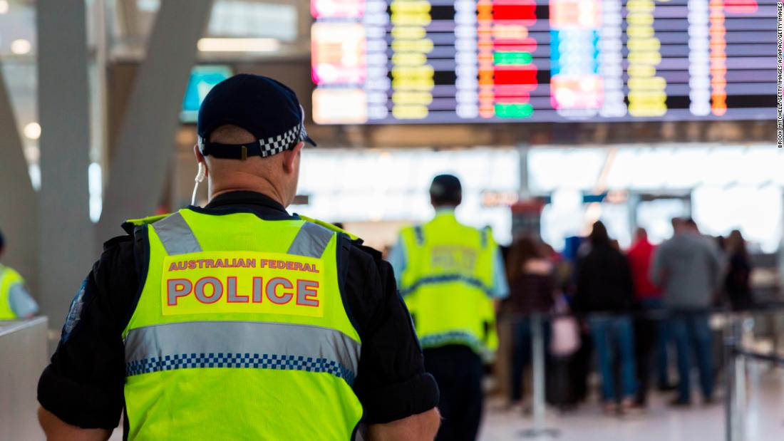 Australian child sex offender stopped at airport under new laws