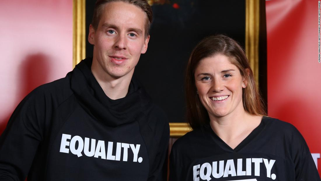 This country's soccer players signed a historic equal pay deal