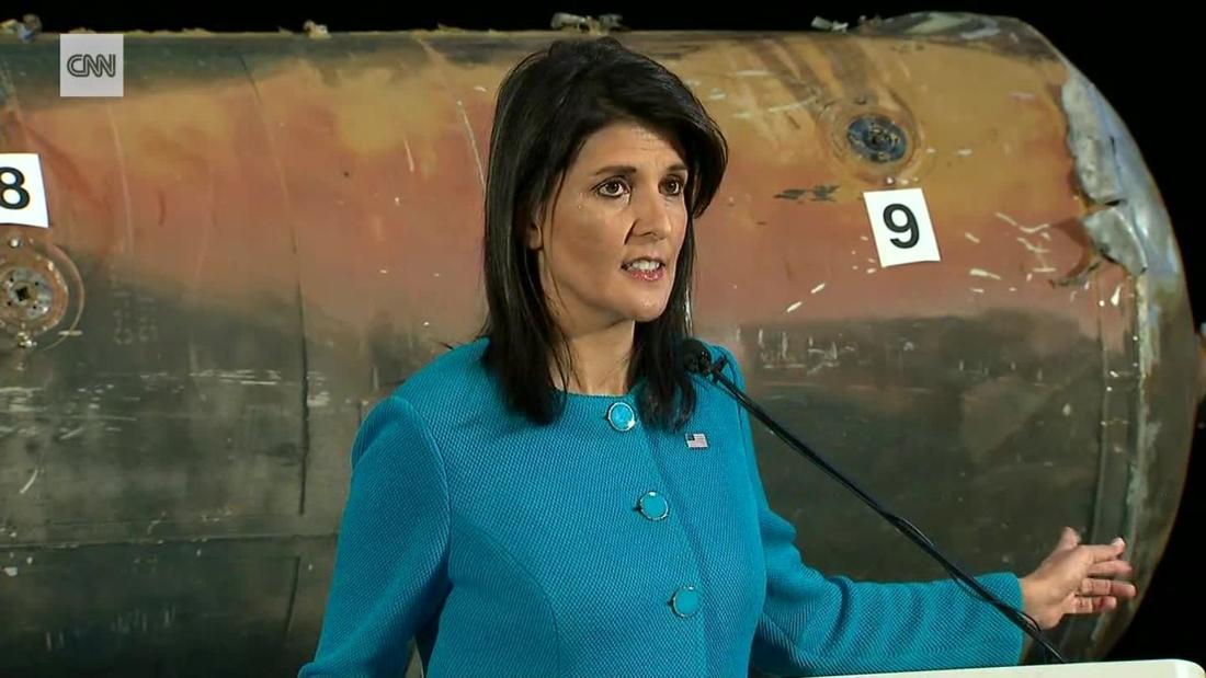 Haley: Concrete proof of Iran UN violations