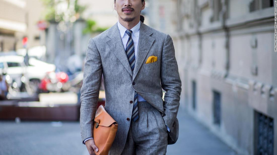 Five rules for wearing a suit