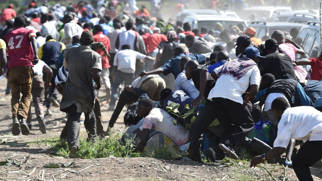 Sexual violence widespread during Kenyan elections, report says