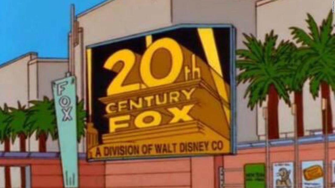 'The Simpsons' predicted Disney's Fox move