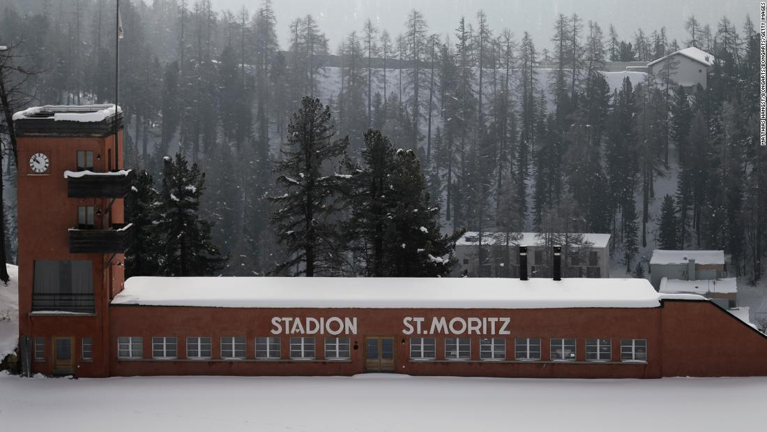 St. Moritz: Meet the man who lives in an Olympic stadium