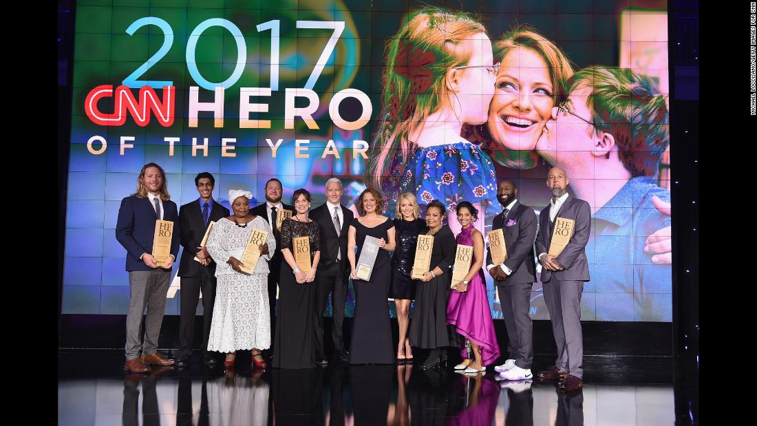 See highlights from CNN Heroes tribute