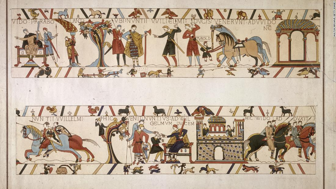 Bayeux Tapestry to leave France for first time in 950 years