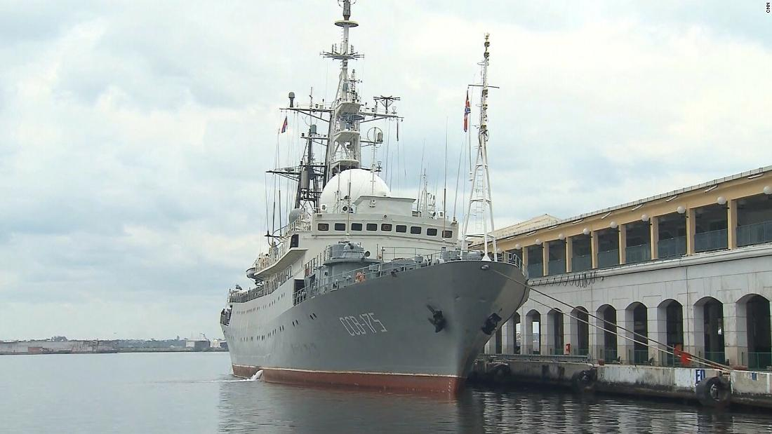 Russian spy ship spotted off NC