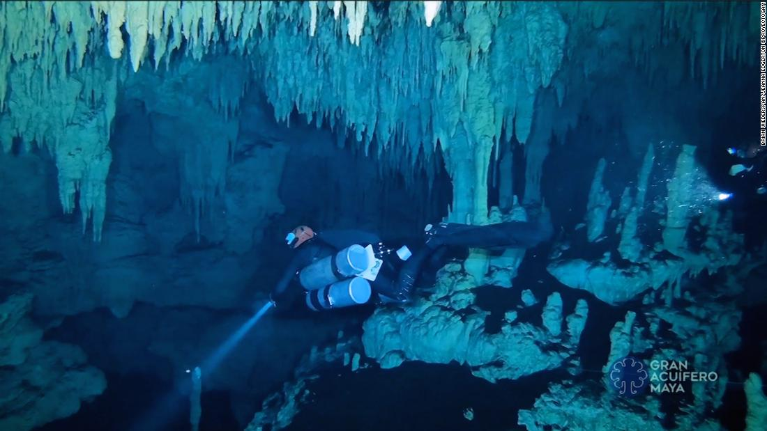 Massive underwater cave discovered