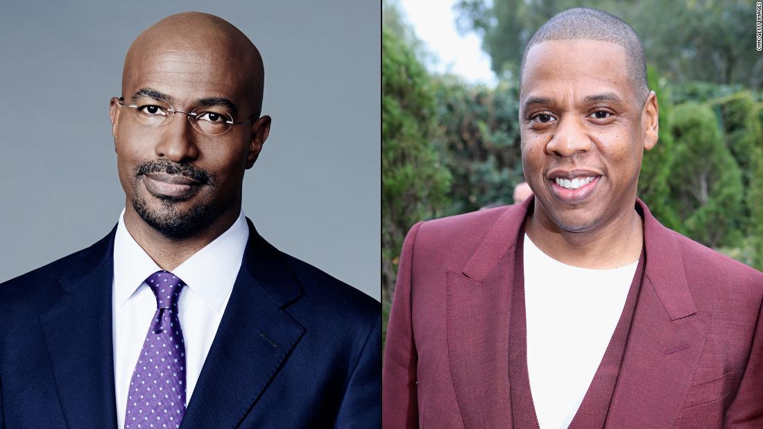 Van Jones kicks off new show with Jay-Z