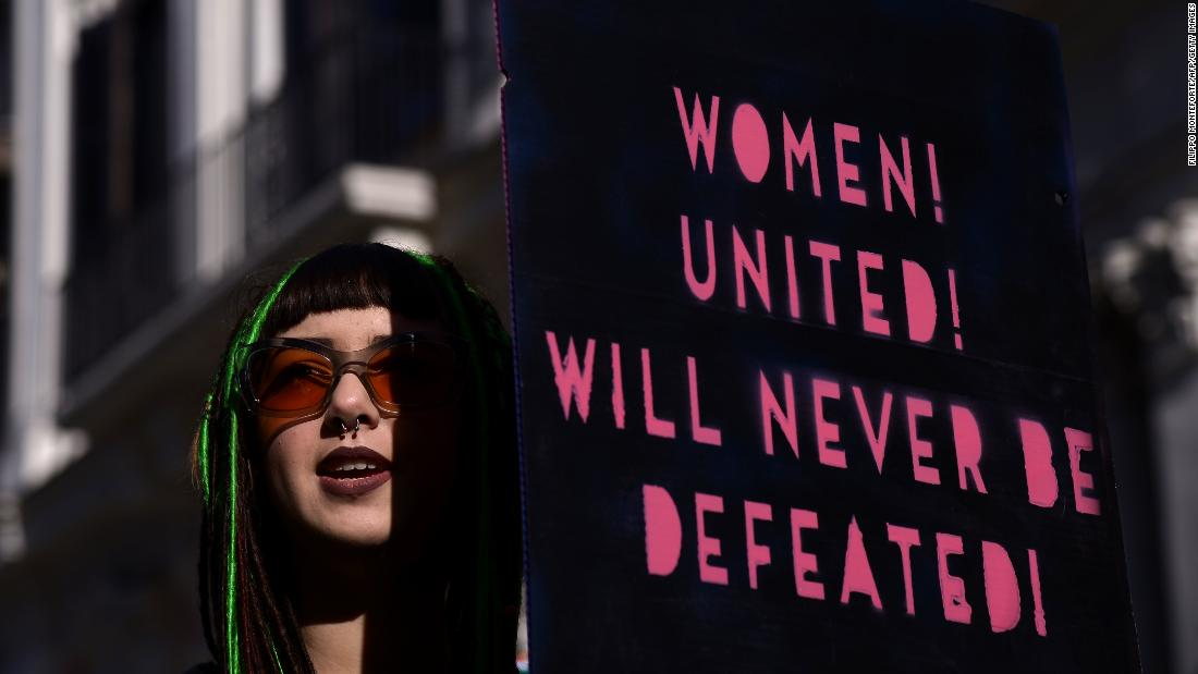 Here are the signs of the Women's March