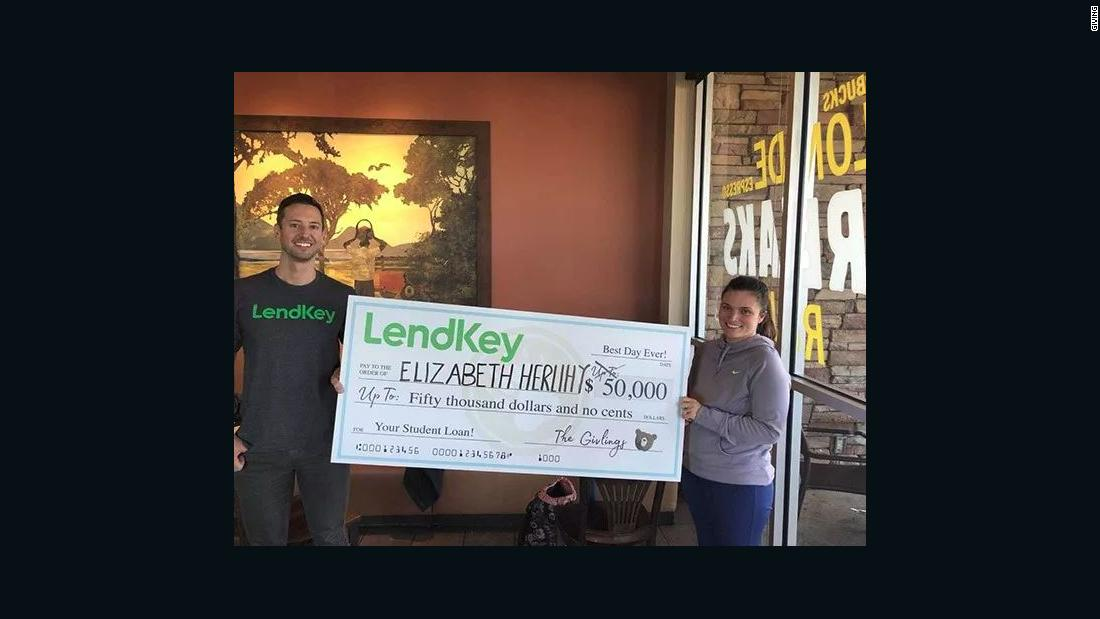 Woman wins $50,000 to pay down student loans