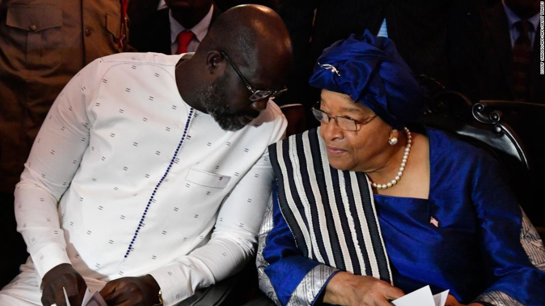 George Weah takes over from Africa's first female president
