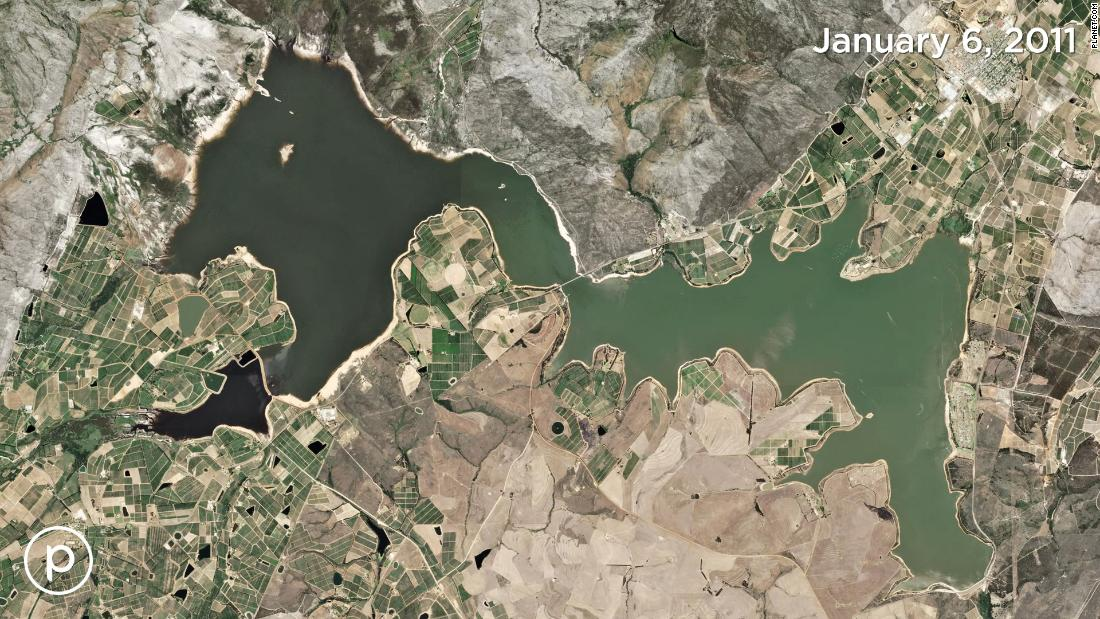 Cape Town Is Running Out Of Water Satellite Images Show Its - Google satellite images