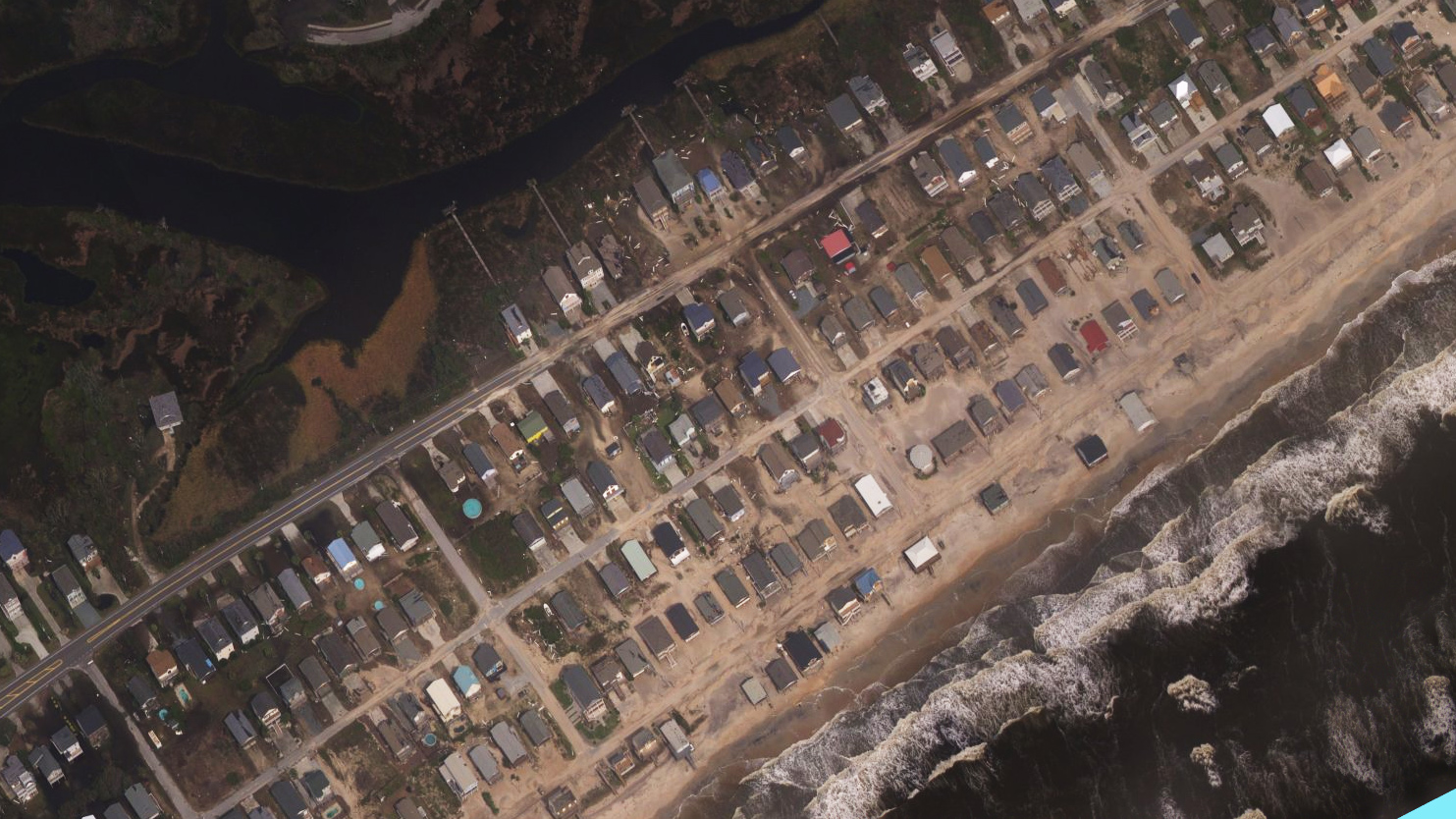Hurricane Florence before and after aerial photos show destruction ...