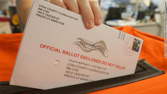 There are ways to track your mail-in ballot