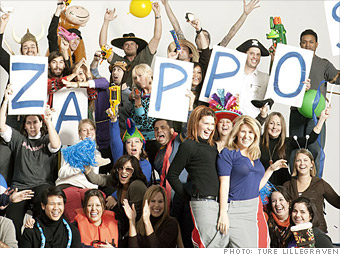 Zappos.com - Best Companies to Work For 2013 - Fortune