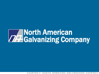 12. North American Galvanizing & Coatings