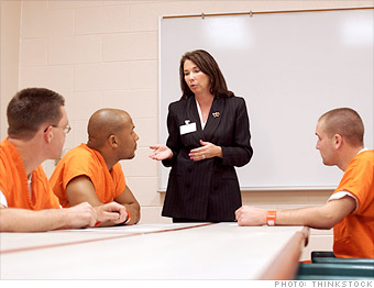 best jobs, career change military, probation officer