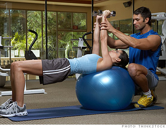 best jobs, older workers, personal trainer
