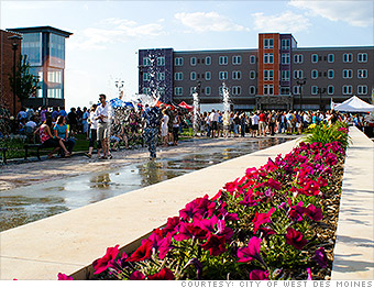 West Des Moines, IA - Best Places to Live - Money Magazine
