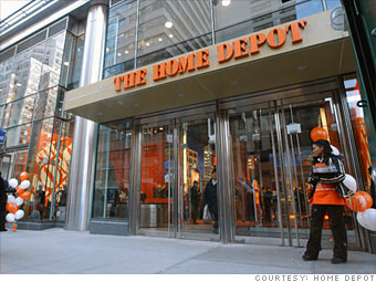 Hd Home Depot Company Profile Cnnmoney Com