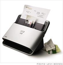 scan receipts machine