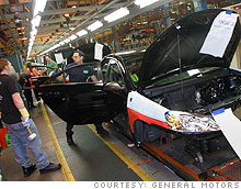Even the tempoary shutdowns at most GM and Chrysler assembly lines during the bankruptcy process will be another hit to the battered labor market.