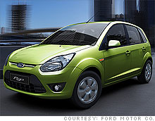 The Ford Figo will go on sale in 2010. & Ford Figo unveiled; new small car for India - Sep. 23 2009 markmcfarlin.com