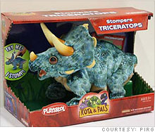 The Stompers Triceratops is loud enough to cause hearing loss, said PIRG.